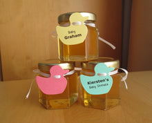 24 Honey Favours with Duck Tags (1.5 oz)