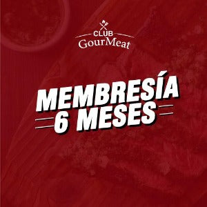 Club Gourmeat · Membresía 6 meses