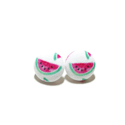 Watercolor Watermelon Nickel-Free Earrings