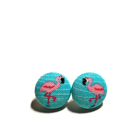 Blue Flamingo Nickel-Free Earrings