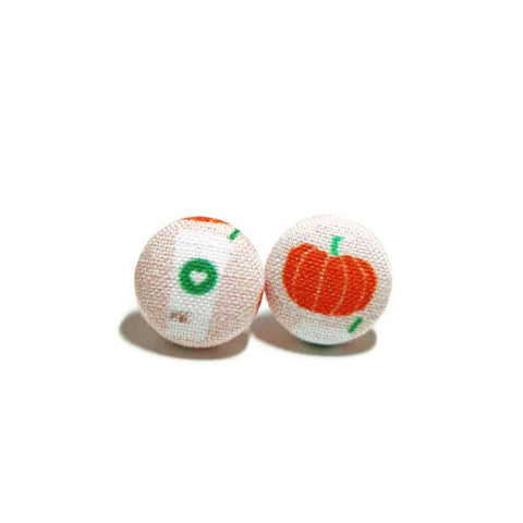 Pumpkin Spice Stud Earrings
