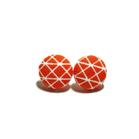 Roadster Orange Nickel-Free Earrings