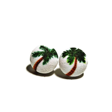 Nickel-free Palm Tree Earrings