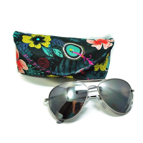Morning Dew Hummingbird Sunglasses Case