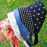 Black Skull Dots Wire Headband