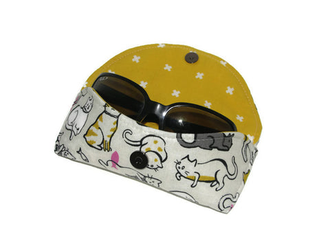 Cat Lady Sunglasses Case