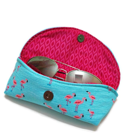 Flamingo Sunglasses Case