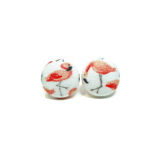 Pink Flamingo Nickel-Free Earrings