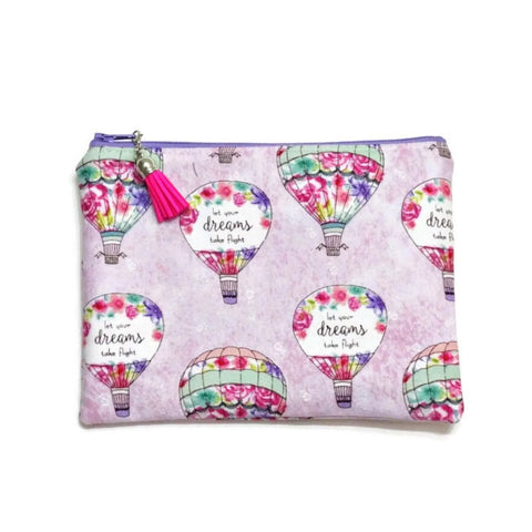 Let Your Dreams Take Flight Zipper Pouch