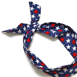 4th of July Red, White, & Blue Stars Wire Headband