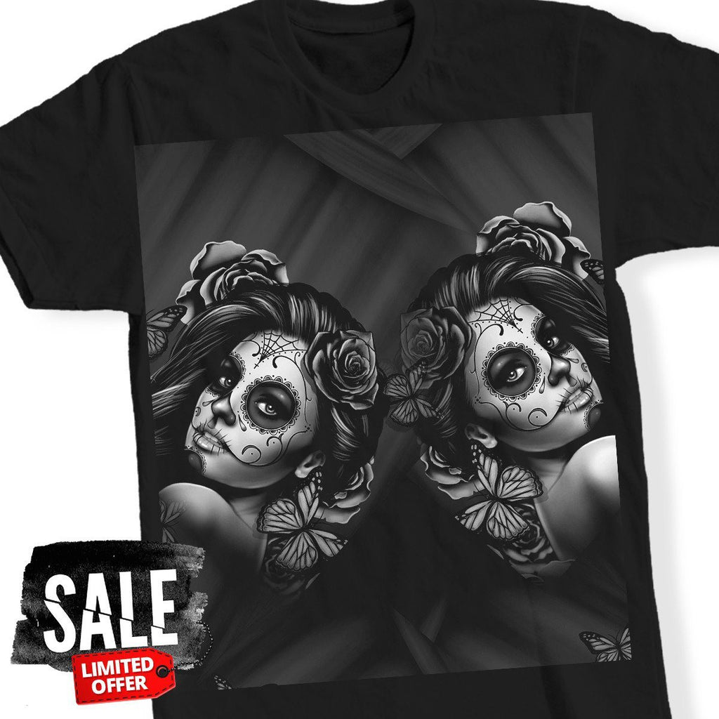 Hey Calavera Tattoo T-Shirt