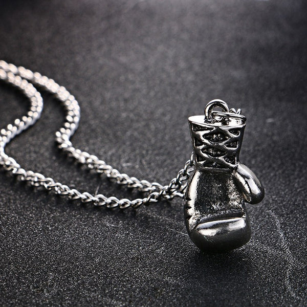Boxing Glove Necklace - Boxing