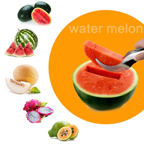 Cleverly Designed Melon Slicer - Cleverly