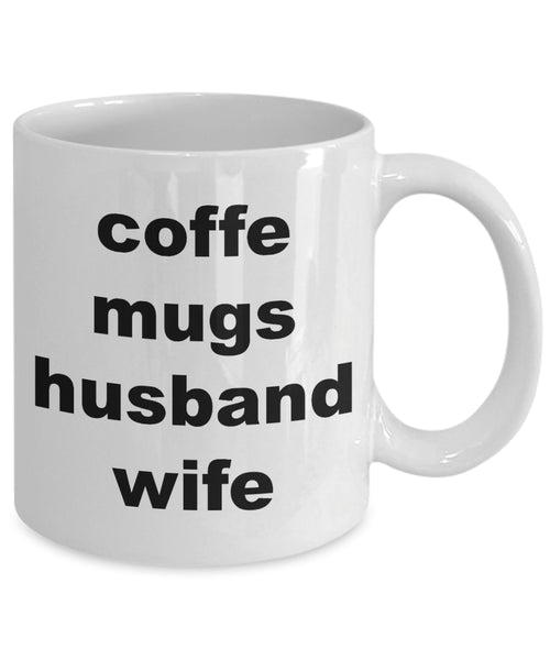Coffee Mug - Coffe Mugs Husband Wifehusband Spouse Lifepartner Love Bemine Funny Novelty Coffee Cup Gift Idea