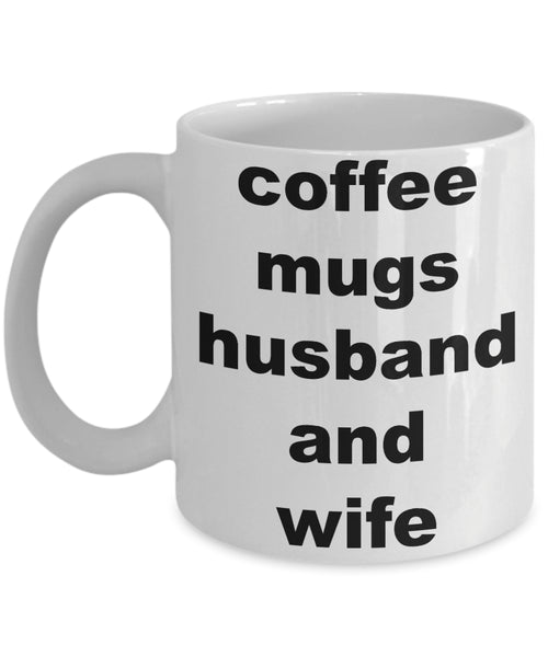 Coffee Mug - Coffee Mugs Husband And Wifehusband Spouse Lifepartner Love Bemine Funny Novelty Coffee Cup Gift Idea