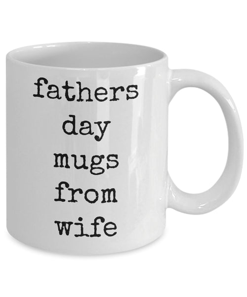 Coffee Mug - Fathers Day Mugs From Wifehusband Spouse Lifepartner Love Bemine Funny Novelty Coffee Cup Gift Idea