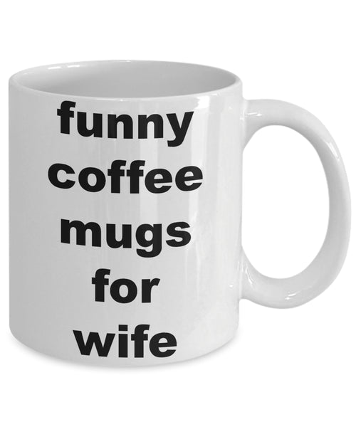 Coffee Mug - Funny Coffee Mugs For Wifehusband Spouse Lifepartner Love Bemine Funny Novelty Coffee Cup Gift Idea