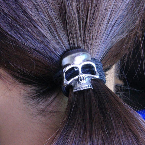 Jewelry - Gothic Raven Skull Hair Band
