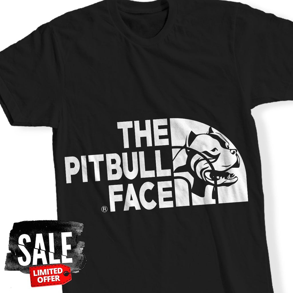 T-Shirt - Pitbull Face T-Shirt