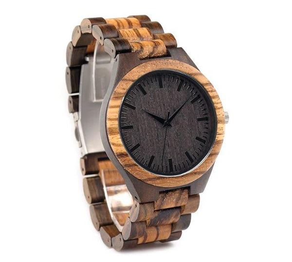Wooden Watch - Dad To Son To My Son Believe Deep Capable Achieving Your Mind To Love Your Rest Of Mine You Will Never Lose Engraved Wooden Watch