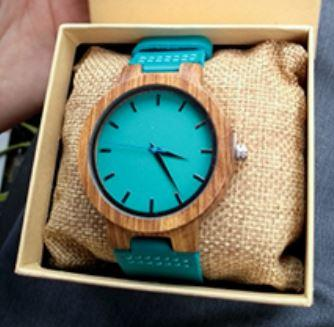 Wooden Watch - Husband To Wife To My Wonderful Wife I Wish Turn Back Time Find You Sooner Love You Longer Engraved Fashionable Stylish Wooden Watch With Leather Band