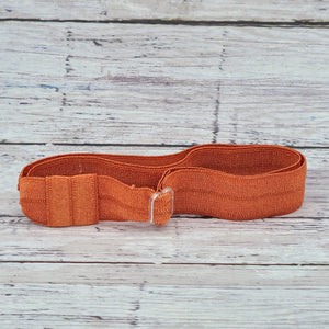 Burnt Orange Adjustable Headband