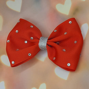 Red rhinestone [huge bowtie]