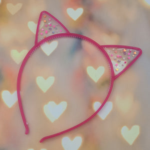 Cat Ears with Hearts