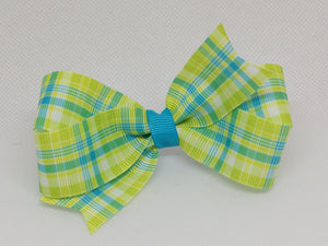 Limeade [Small Loop] Spring Plaids