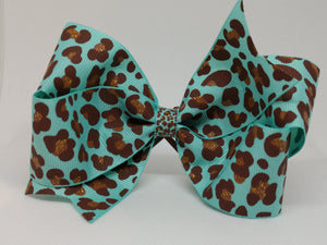 Blue [medium loop] Leopard