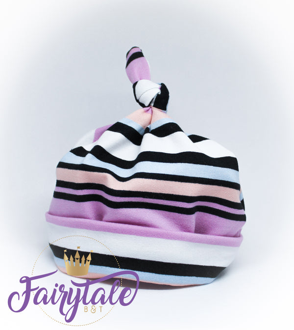 Striped Knot Top Hat - Baby