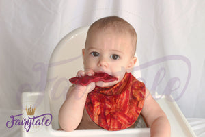 BACON Dribble Lips Bandanna Bib