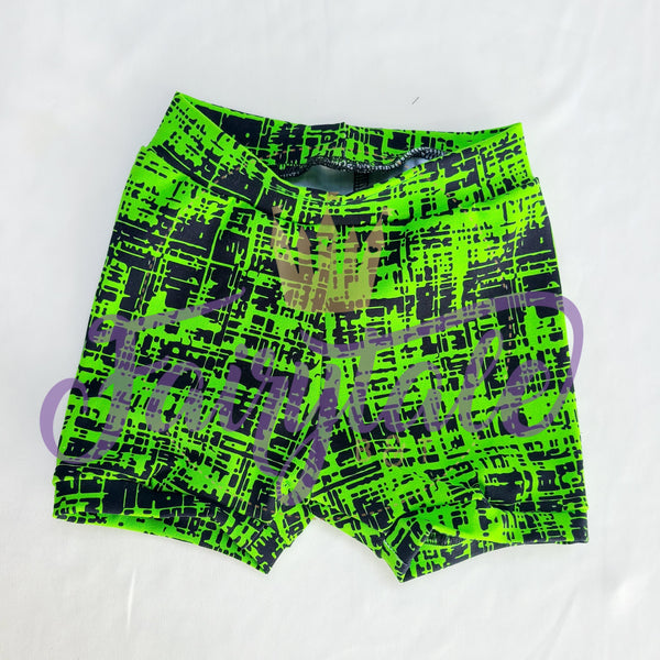 Lime green Shorties