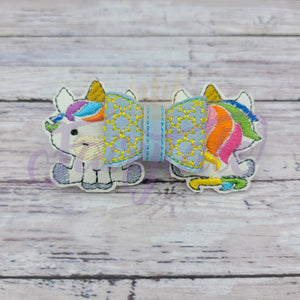 Front to Back Unicorn 3D Bow