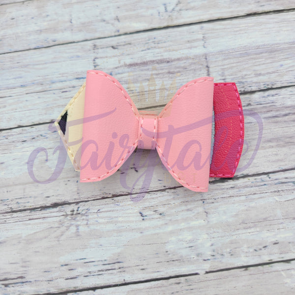 Pink Pencil 3D Bow
