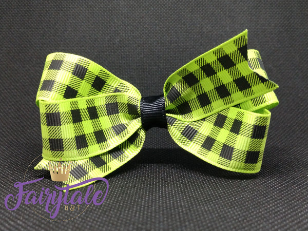 Green [small loop] Plaid