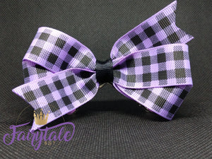 Plaid Loop - Purple
