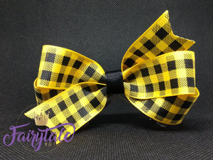 Yellow [small loop] plaid