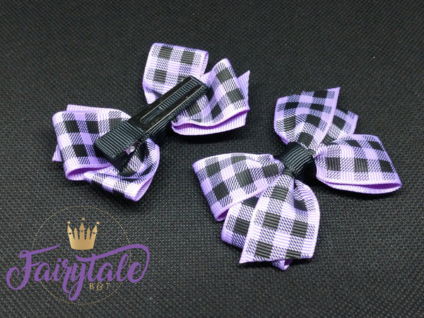 Purple [small basic] plaid