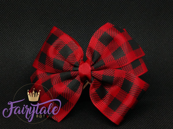 Scarlet [medium basic] plaid