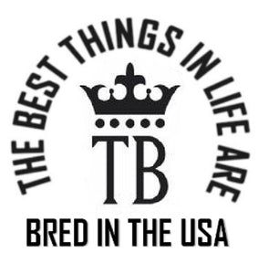 The Bred In The USA Decals (Choose Your Breed Logo)