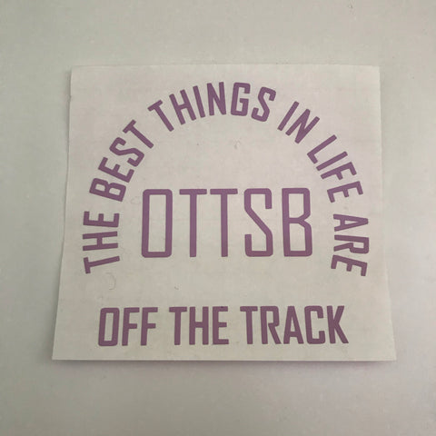 The OTTSB Decal