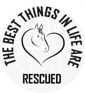 The Rescued Decal