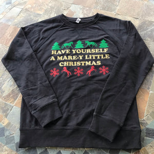The Mare-y Christmas Crewneck Sweatshirt