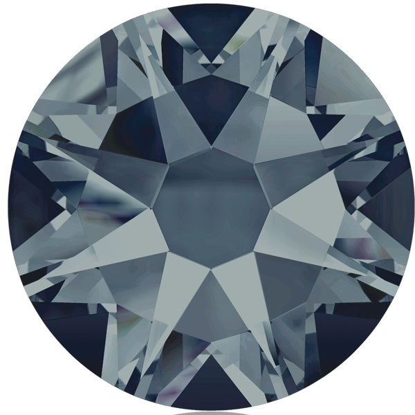 Swarovski® Round Flat Back - Montana - Haus of Bling International