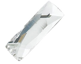 Swarovski® Cosmic Baguette Flat Back - Crystal Clear - Haus of Bling International