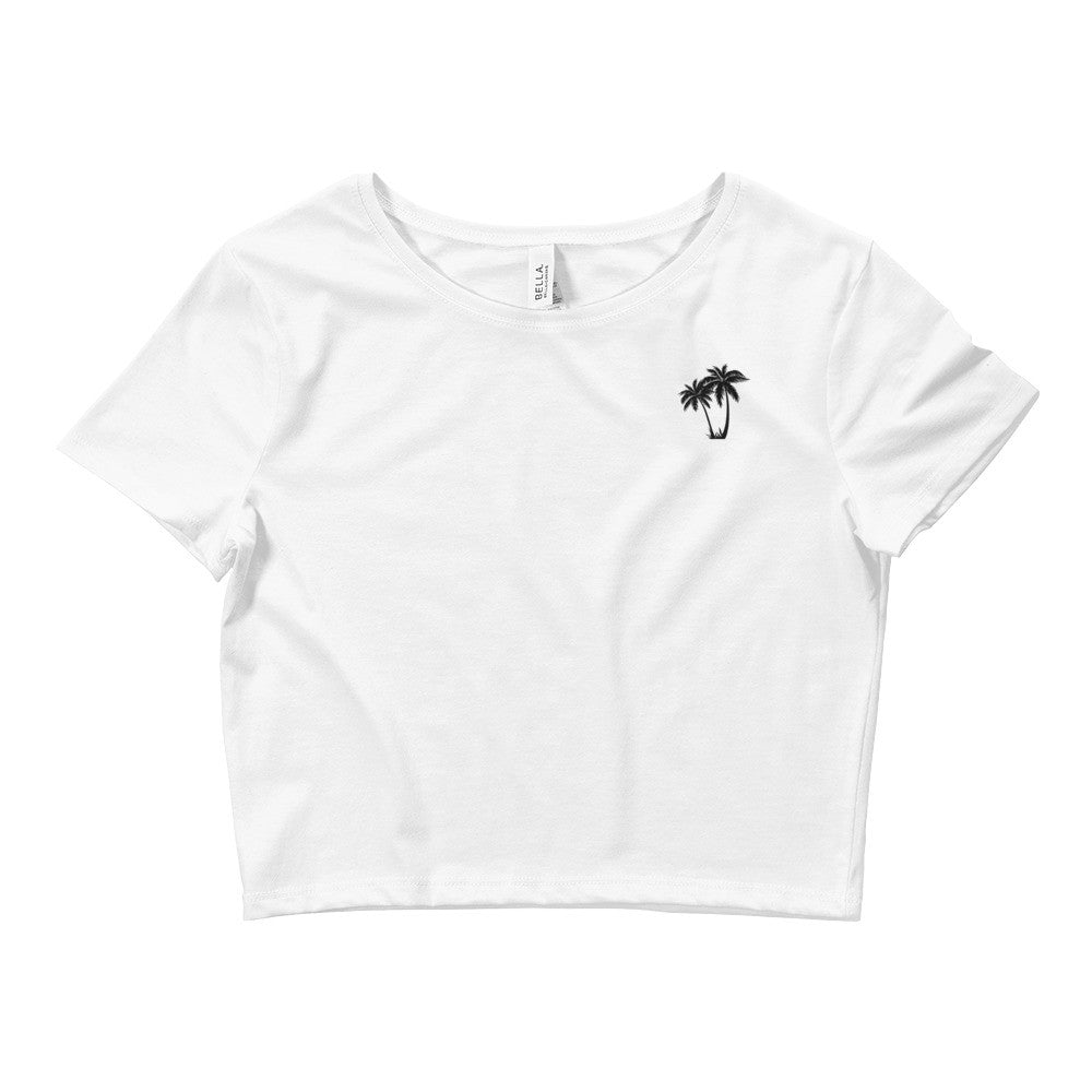 Create Build Grow Women's Crop Tee