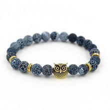 Owl Head Yoga Fashion Bracelet