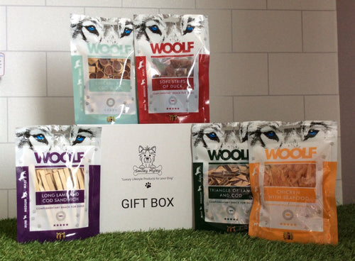 Box of Five treats for your Dog