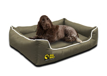 Dog Doza - Waterproof Memory Foam Settee in Beige